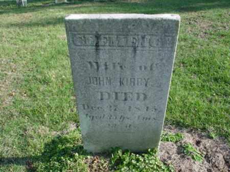 KIRBY, CLEMENCY - Carroll County, Ohio | CLEMENCY KIRBY - Ohio Gravestone Photos