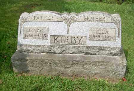 KIRBY, ELLA - Carroll County, Ohio   ELLA KIRBY - Ohio Gravestone Photos