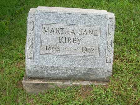 KIRBY, MARY JANE - Carroll County, Ohio | MARY JANE KIRBY - Ohio Gravestone Photos