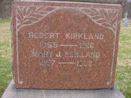 KIRKLAND, ROBERT - Carroll County, Ohio | ROBERT KIRKLAND - Ohio Gravestone Photos
