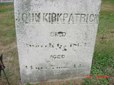 KIRKPATRICK, JOHN - Carroll County, Ohio   JOHN KIRKPATRICK - Ohio Gravestone Photos