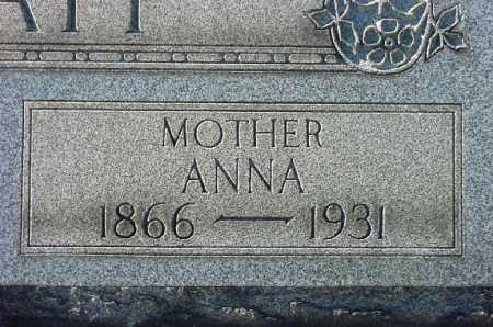 KNAPP, ANNA - Carroll County, Ohio | ANNA KNAPP - Ohio Gravestone Photos