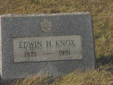 KNOX, EDWIN H. - Carroll County, Ohio | EDWIN H. KNOX - Ohio Gravestone Photos
