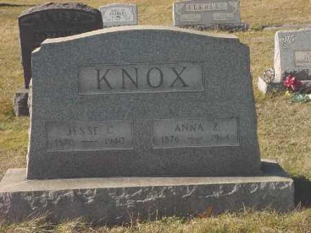 KNOX, ANNA Z. - Carroll County, Ohio   ANNA Z. KNOX - Ohio Gravestone Photos