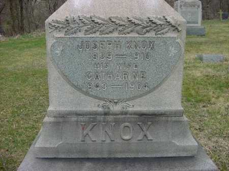KNOX, CATHARINE - Carroll County, Ohio | CATHARINE KNOX - Ohio Gravestone Photos