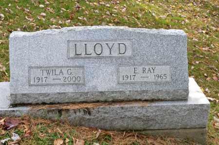 LLOYD, E. RAY - Carroll County, Ohio | E. RAY LLOYD - Ohio Gravestone Photos
