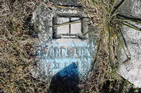 LONG, JOHN - Carroll County, Ohio | JOHN LONG - Ohio Gravestone Photos