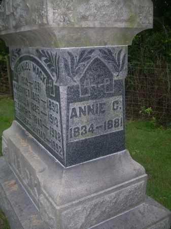 MACK, ANNIE C - Carroll County, Ohio   ANNIE C MACK - Ohio Gravestone Photos