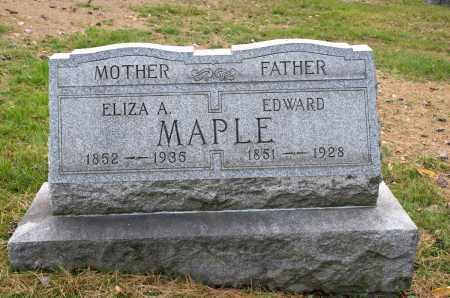 BARNHOUSE MAPLE, ELIZA ANNA - Carroll County, Ohio   ELIZA ANNA BARNHOUSE MAPLE - Ohio Gravestone Photos