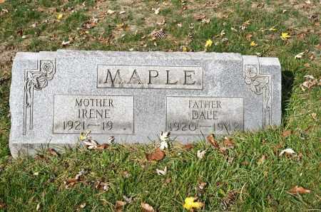 MAPLE, WILLIAM DALE - Carroll County, Ohio | WILLIAM DALE MAPLE - Ohio Gravestone Photos