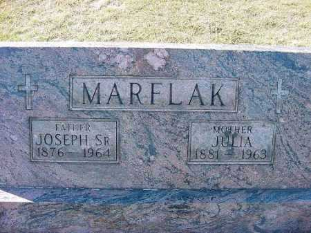 MARFLAK, JULIA - Carroll County, Ohio | JULIA MARFLAK - Ohio Gravestone Photos