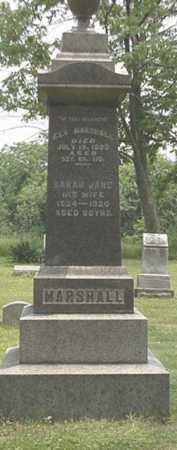 MARSHALL, SARAH JANE - Carroll County, Ohio | SARAH JANE MARSHALL - Ohio Gravestone Photos