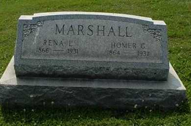 BRACKEN MARSHALL, RENA L. - Carroll County, Ohio | RENA L. BRACKEN MARSHALL - Ohio Gravestone Photos