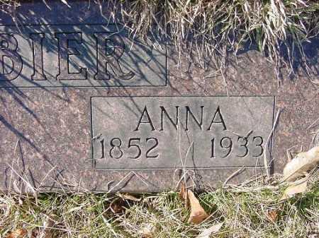 MCABIER, ANNA J. - Carroll County, Ohio   ANNA J. MCABIER - Ohio Gravestone Photos