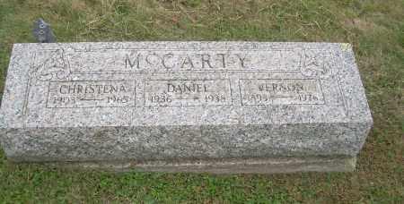 MCCARTY, VERNON - Carroll County, Ohio | VERNON MCCARTY - Ohio Gravestone Photos