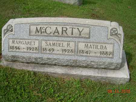 MCCARTY, MATILDA - Carroll County, Ohio | MATILDA MCCARTY - Ohio Gravestone Photos