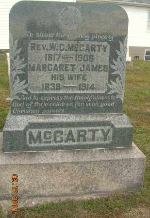MCCARTY, W C - Carroll County, Ohio | W C MCCARTY - Ohio Gravestone Photos
