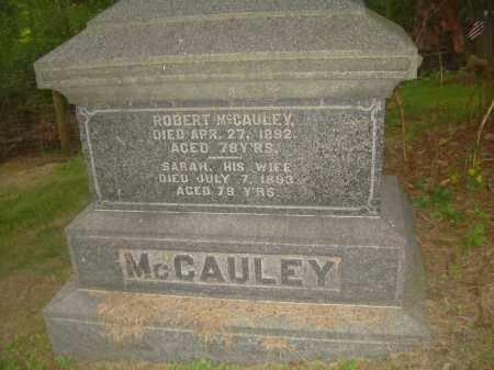 FORBES MCCAULEY, SARAH - Carroll County, Ohio | SARAH FORBES MCCAULEY - Ohio Gravestone Photos