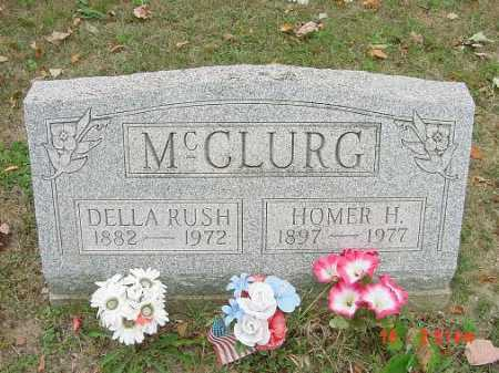 MCCLURG, DELLA RUSH - Carroll County, Ohio | DELLA RUSH MCCLURG - Ohio Gravestone Photos