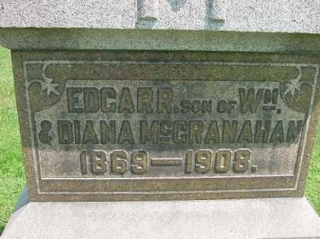 MCGRANAHAN, EDGAR R. - Carroll County, Ohio   EDGAR R. MCGRANAHAN - Ohio Gravestone Photos