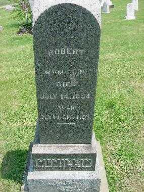 MCMILLIN, ROBERT - Carroll County, Ohio | ROBERT MCMILLIN - Ohio Gravestone Photos