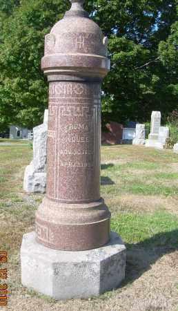MCQUEEN, THOMAS - Carroll County, Ohio | THOMAS MCQUEEN - Ohio Gravestone Photos