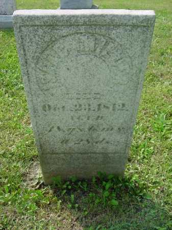 MILLER, ISAAC - Carroll County, Ohio | ISAAC MILLER - Ohio Gravestone Photos