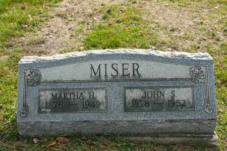 MISER, JOHN SCOTT - Carroll County, Ohio | JOHN SCOTT MISER - Ohio Gravestone Photos