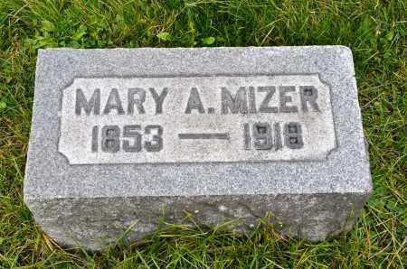 MCCAULEY MIZER, MARY A. - Carroll County, Ohio | MARY A. MCCAULEY MIZER - Ohio Gravestone Photos