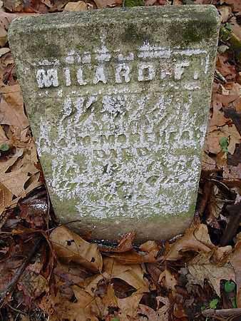 MOREHEAD, MILARD F. - Carroll County, Ohio   MILARD F. MOREHEAD - Ohio Gravestone Photos