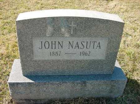 NASUTA, JOHN - Carroll County, Ohio | JOHN NASUTA - Ohio Gravestone Photos