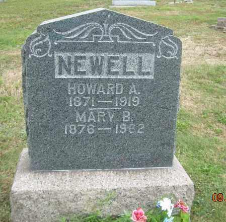 NEWELL, MARY B - Carroll County, Ohio   MARY B NEWELL - Ohio Gravestone Photos