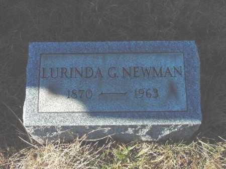 NEWMAN, LURINDA G. - Carroll County, Ohio | LURINDA G. NEWMAN - Ohio Gravestone Photos
