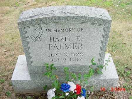 PALMER, HAZEL E. - Carroll County, Ohio   HAZEL E. PALMER - Ohio Gravestone Photos