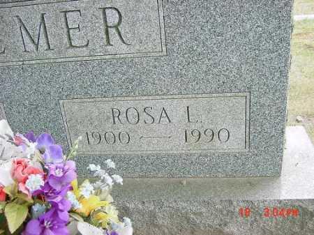 RAY PALMER, ROSA L. - Carroll County, Ohio | ROSA L. RAY PALMER - Ohio Gravestone Photos