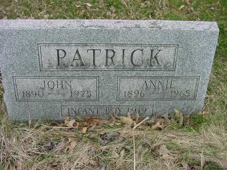 PATRICK, JOHN - Carroll County, Ohio | JOHN PATRICK - Ohio Gravestone Photos