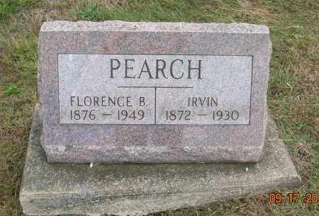 PEARCH, FLORENCE B - Carroll County, Ohio | FLORENCE B PEARCH - Ohio Gravestone Photos