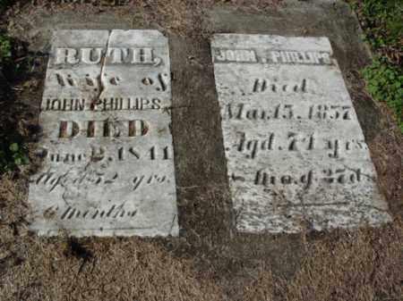 PHILLIPS, JOHN - Carroll County, Ohio | JOHN PHILLIPS - Ohio Gravestone Photos