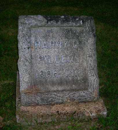 PILLERS, HARRY O - Carroll County, Ohio | HARRY O PILLERS - Ohio Gravestone Photos