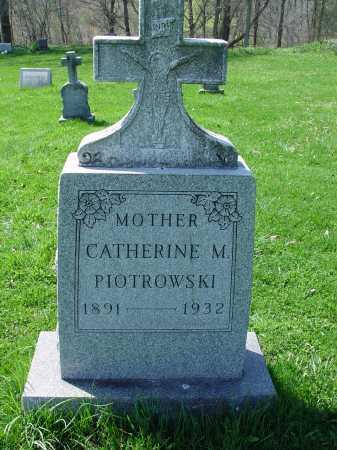 PIOTROWSKI, CATHERINE M. - Carroll County, Ohio   CATHERINE M. PIOTROWSKI - Ohio Gravestone Photos