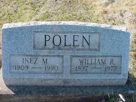 POLEN, INEZ M. - Carroll County, Ohio   INEZ M. POLEN - Ohio Gravestone Photos