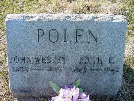POLEN, EDITH E. - Carroll County, Ohio | EDITH E. POLEN - Ohio Gravestone Photos