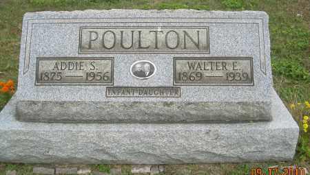 POULTON, WALTER E - Carroll County, Ohio | WALTER E POULTON - Ohio Gravestone Photos
