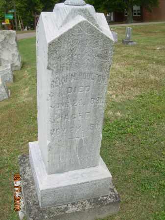 POULTON, JOSIAH M - Carroll County, Ohio | JOSIAH M POULTON - Ohio Gravestone Photos