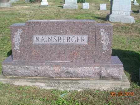 RAINSBERGER, FAMILY STONE - Carroll County, Ohio | FAMILY STONE RAINSBERGER - Ohio Gravestone Photos