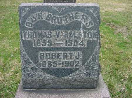 RALSTON, THOMAS V. - Carroll County, Ohio | THOMAS V. RALSTON - Ohio Gravestone Photos