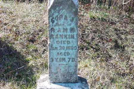 RANKIN, CORA S. - Carroll County, Ohio | CORA S. RANKIN - Ohio Gravestone Photos