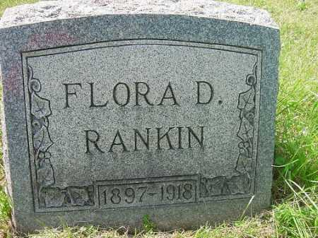 RANKIN, FLORA D. - Carroll County, Ohio   FLORA D. RANKIN - Ohio Gravestone Photos