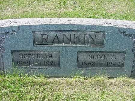 WILLIAMS RANKIN, OLIVE CATHERINE - Carroll County, Ohio | OLIVE CATHERINE WILLIAMS RANKIN - Ohio Gravestone Photos