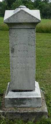 RAY, ABRAHAM - Carroll County, Ohio | ABRAHAM RAY - Ohio Gravestone Photos